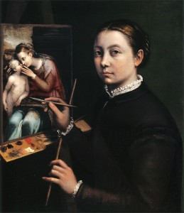800px-Self-portrait_at_the_Easel_Painting_a_Devotional_Panel_by_Sofonisba_Anguissola