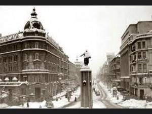 Bilbao. Plaza Circular. vieja estampa