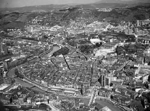 Casco Viejo Bilbao foto antigua
