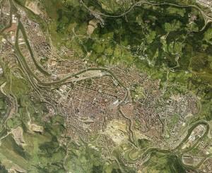 Imagen de satelite grande