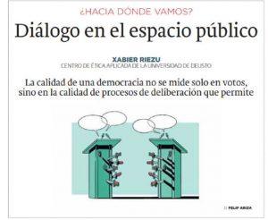 Diálogos en espacios públicos