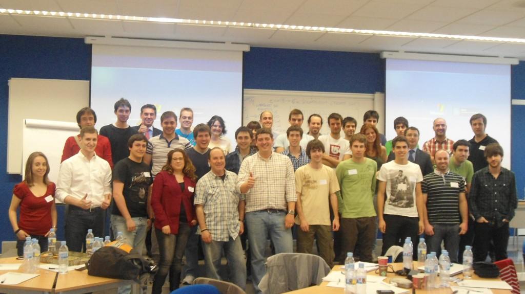 Participantes en el DeustoKabi StartUp Day - Foro de Empleo Deusto