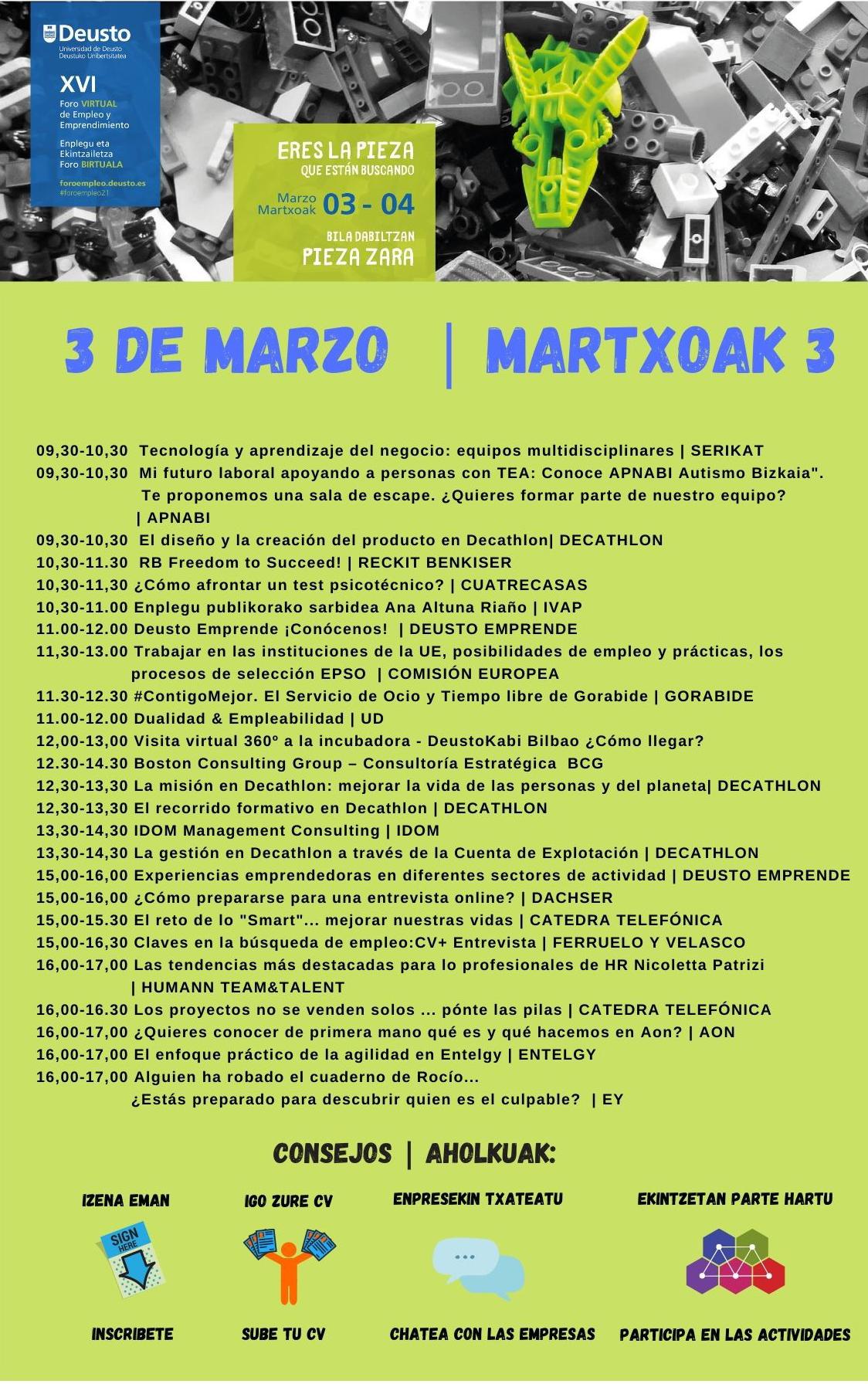Actividades 3 de MArzo de 2021
