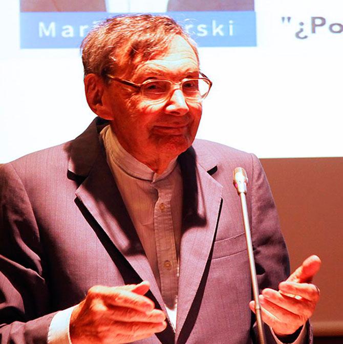 Marian Turski, superviviente del Holocausto