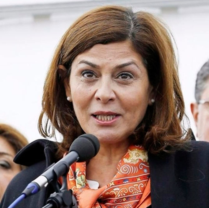 Hind Kabawat, negociadora de paz en Siria