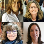 Marian Aláez, Arantza Echaniz, Almudena Eizaguirre y María García-Feijóo