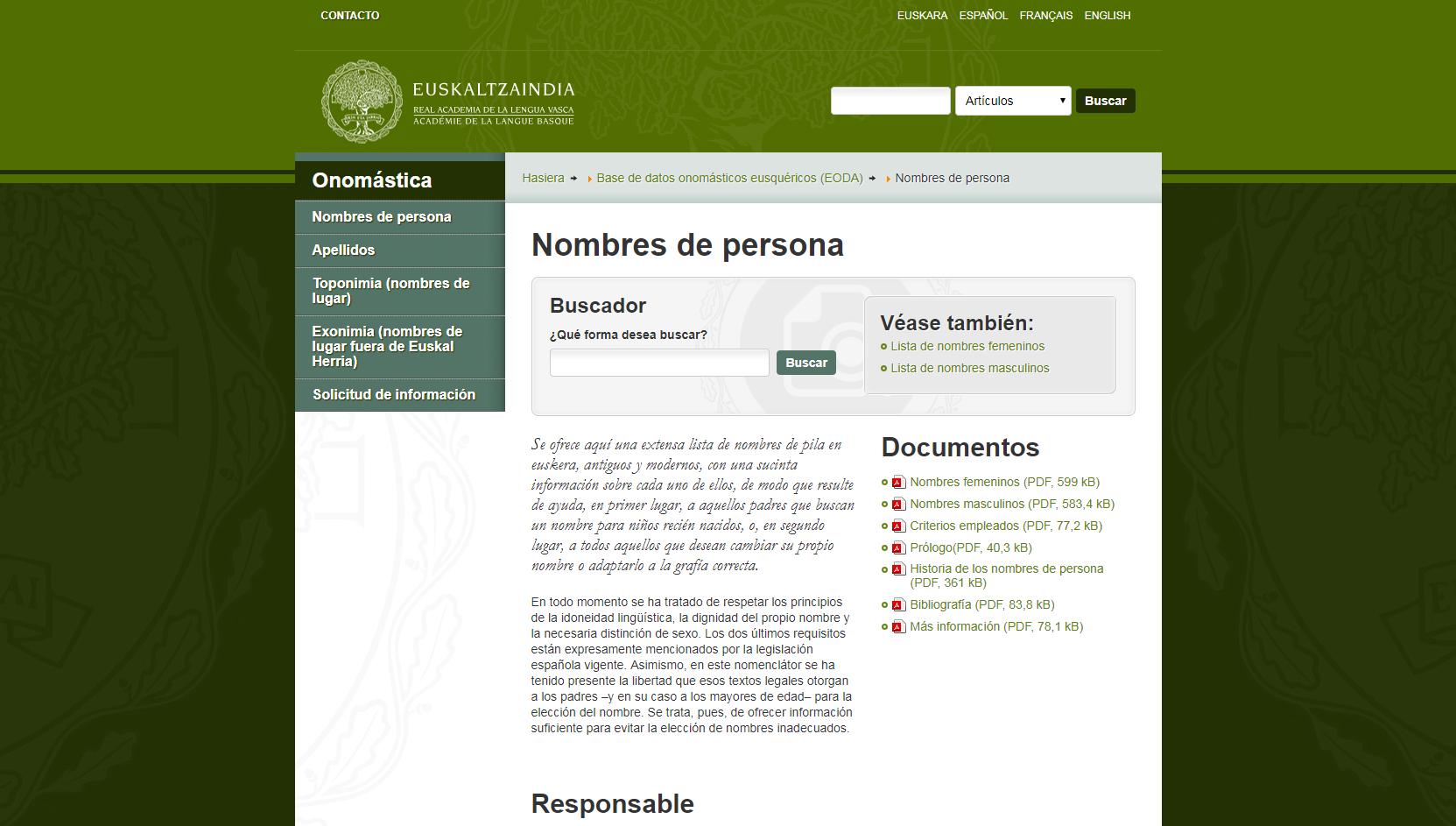 Nombres de personas en euskera (Fuente: http://www.euskaltzaindia.eus/index.php?option=com_content&view=article&id=4161&Itemid=699&lang=es)