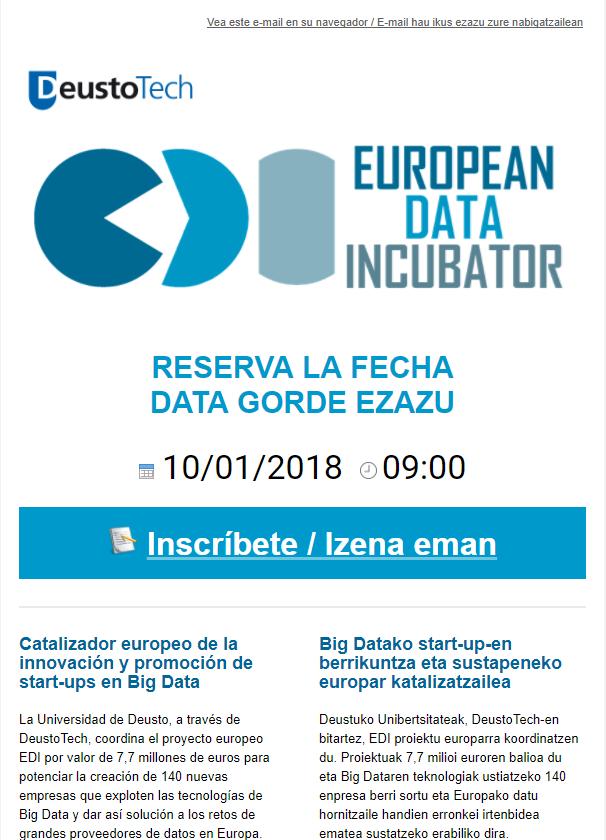 European Data Incubator (http://mailchi.mp/60944d96e91a/edi-839529?e=a8568517ec)