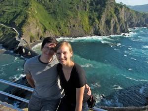 Lindsay y su marido, Josh