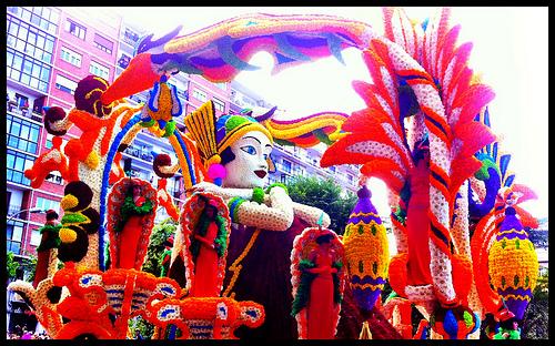 Batalla de flores, Laredo