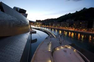 Guggenheim sunset