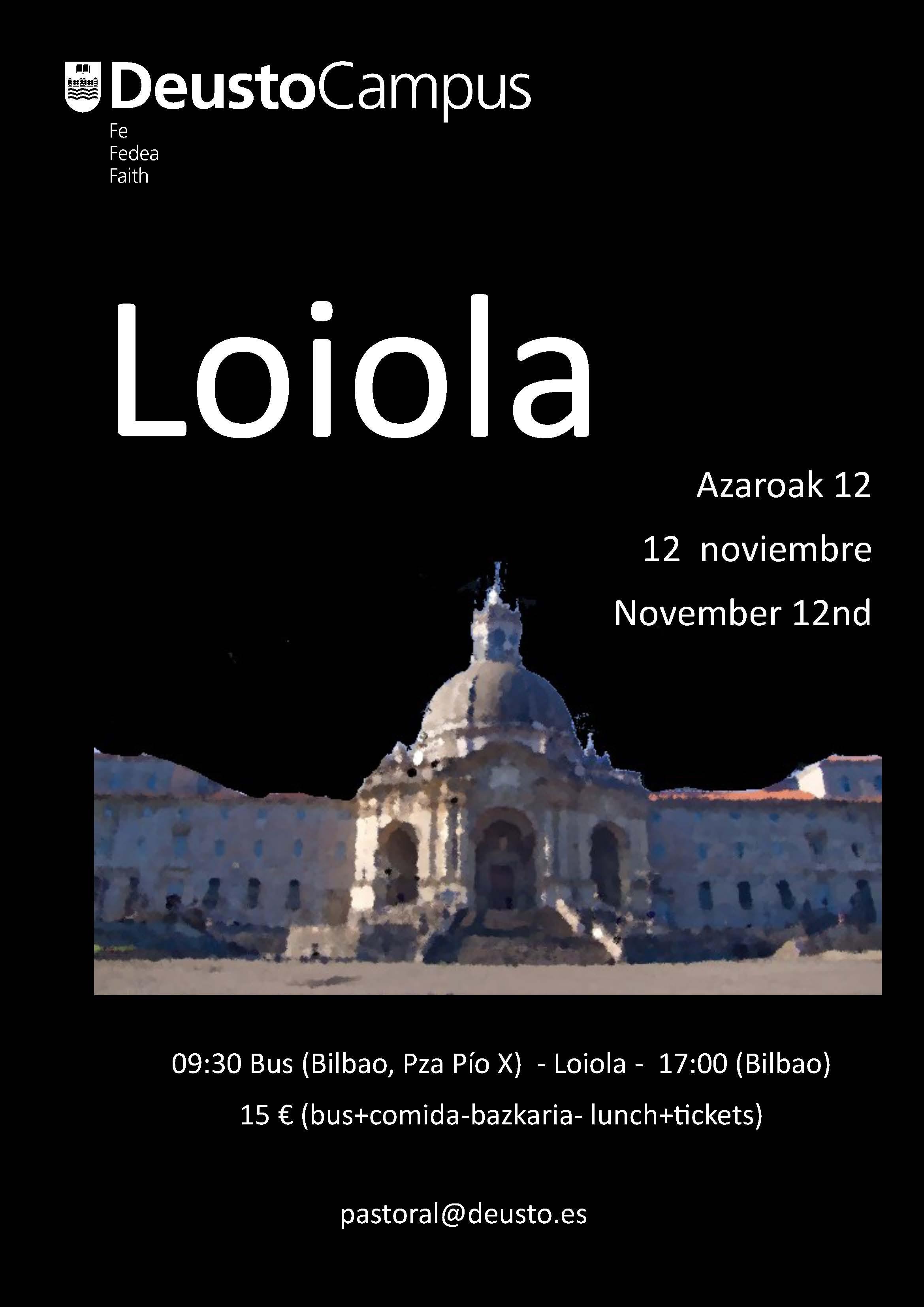 Visit to Loyola. 2016