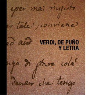 Verdi, de puño y letra