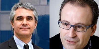 Stefano Scarpetta y Marcel Jansen