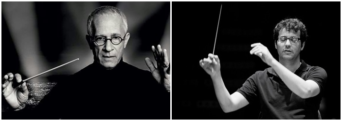 Los compositores James Newton Howard y Fernando Velázquez