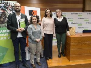 Universidad de Deusto. Forum Deusto. Pepa Bueno. Periodismo comprometido en tiempos de crisis. Donostia San Sebastián. Guipuzkoa