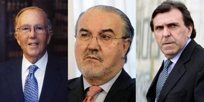 Marcelino Oreja, Pedro Solbes, Jon Azua