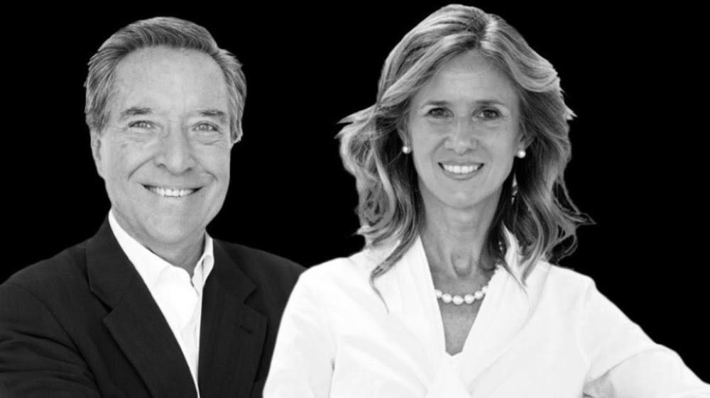 Iñaki Gabilondo y Cristina Garmendia