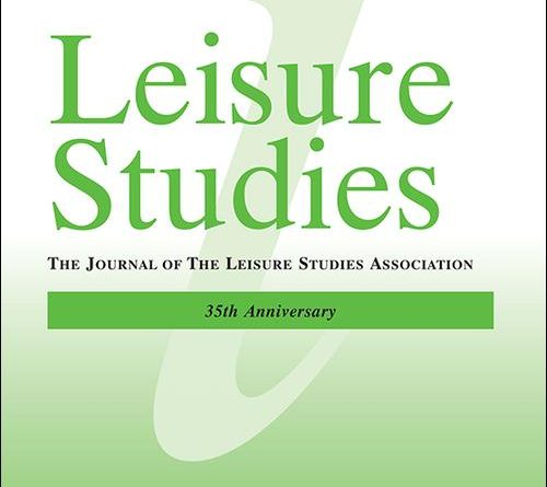Leisure Studies vol. 38 no. 3
