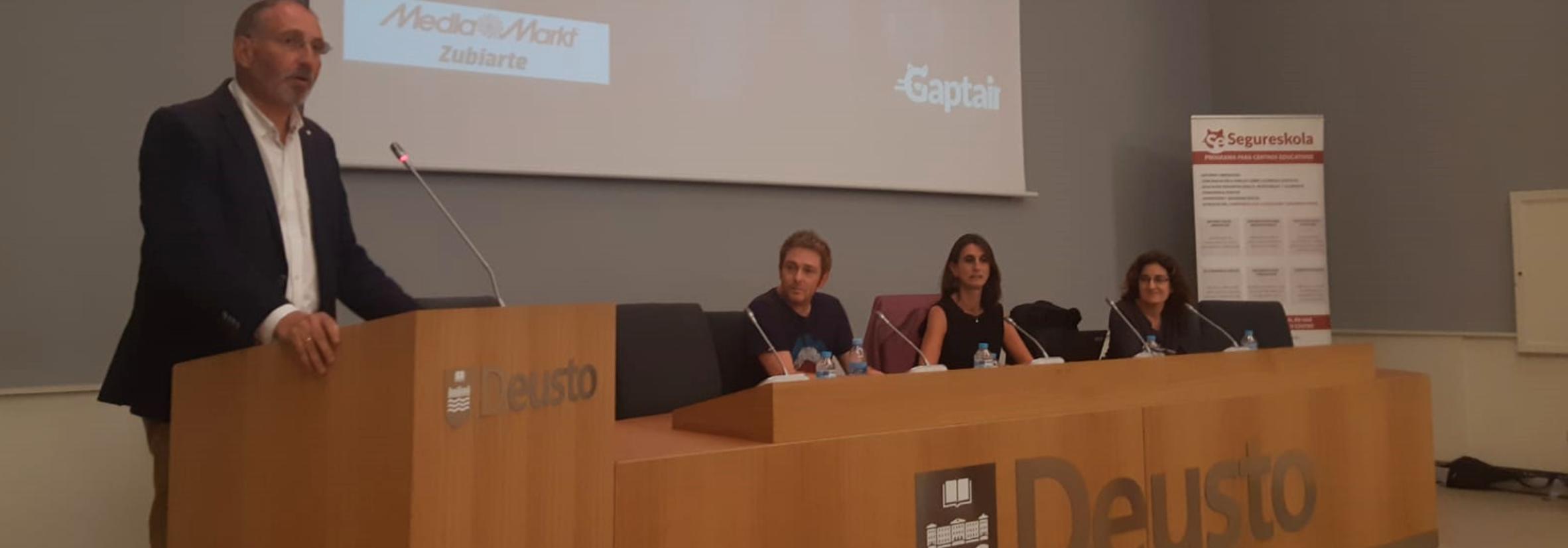 El proyecto Gaptain presenta Kids Centric y lanza el certificado digital Segureskola