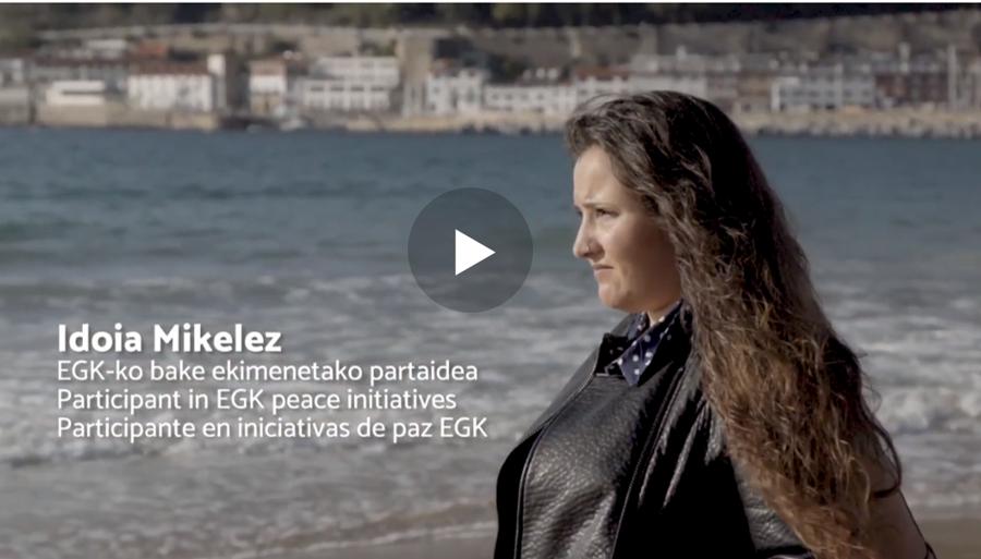 La opción de la juventud,, el reto de la convivencia en Euskadi