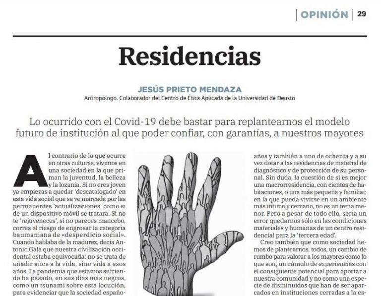 Residencias y COVID-19