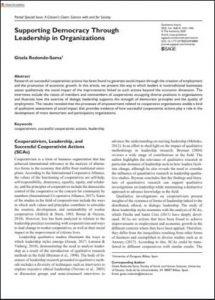 Liderazgo en las organizaciones cooperativistas