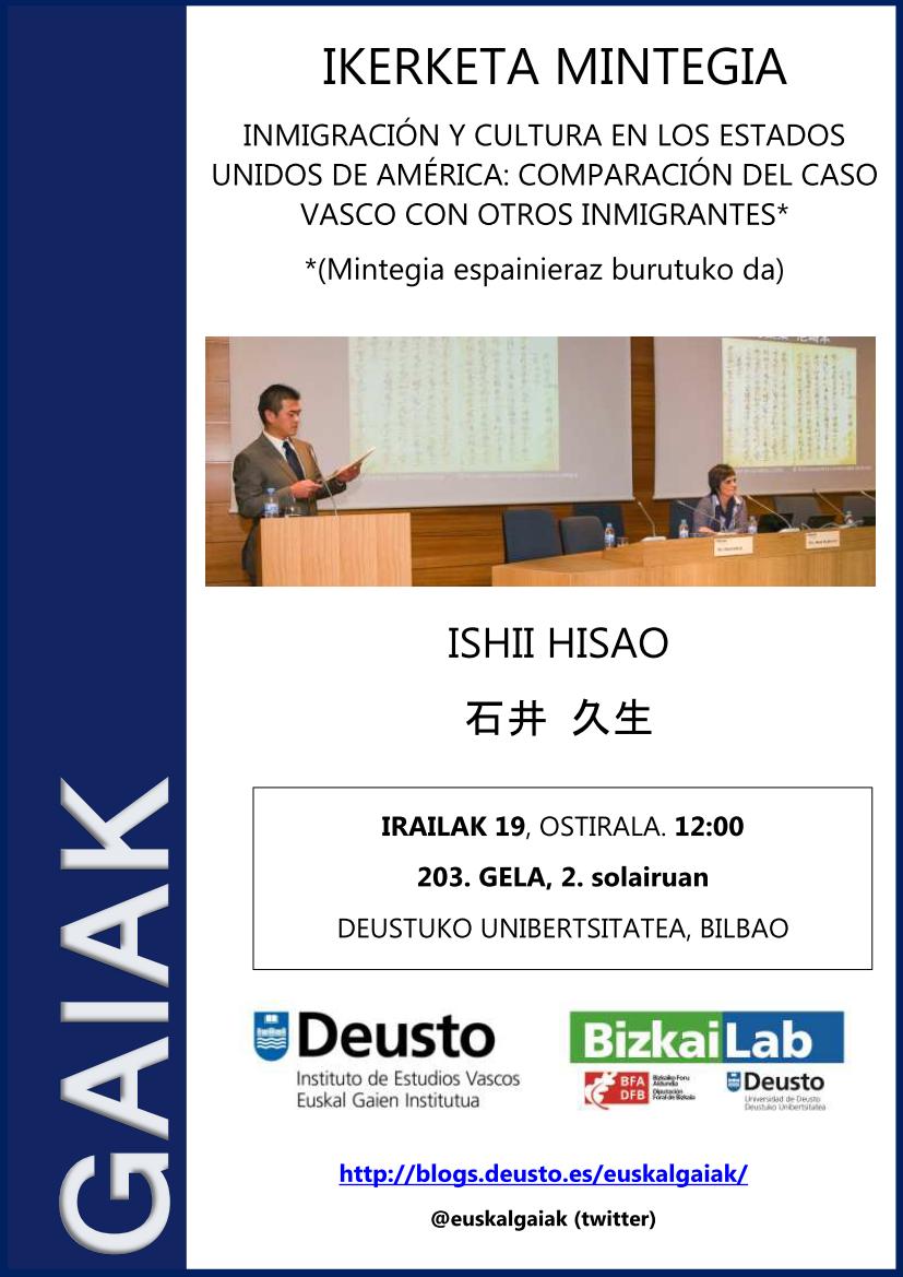 Ishii Hisao