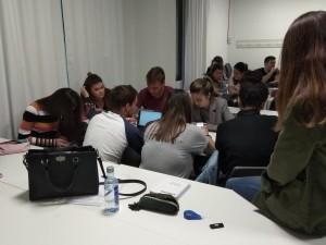 Grupo #ProyectoOasis trabajando
