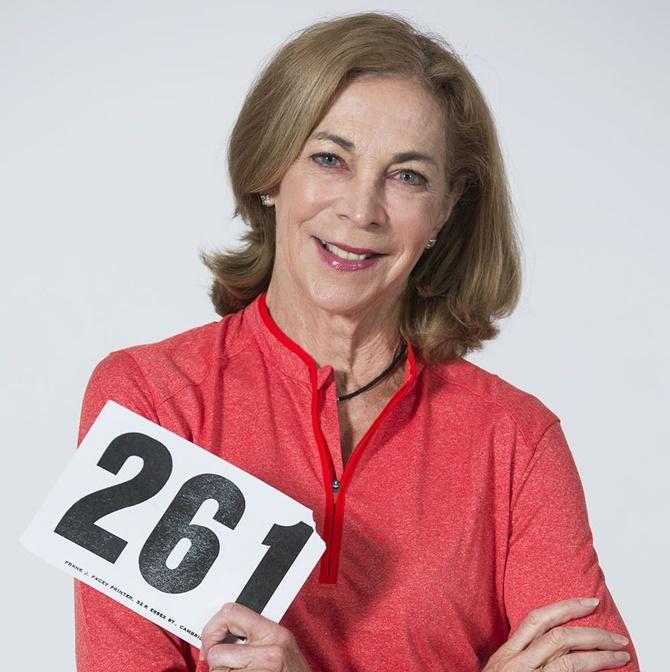 Kathrine Switzer, la primera mujer en correr una maratón con dorsal
