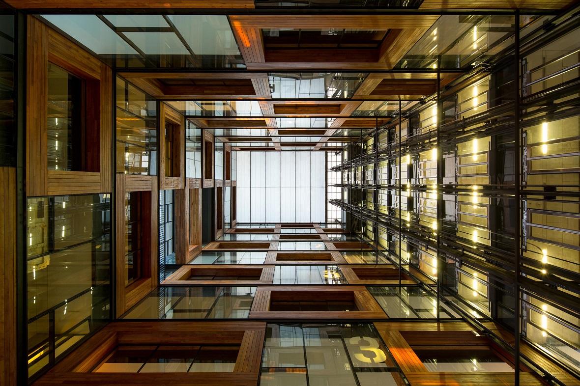 Centro de Innovación Anacleto Angelini - interior
