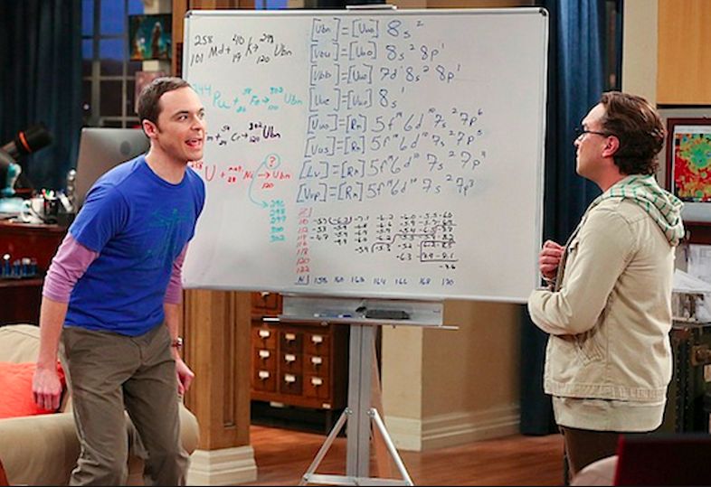 Big Ban Theory. Sheldon