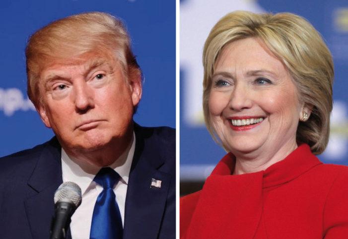 Donald Trump y Hillary Clinton. Debate Presidencial, Estados Unidos, 2016