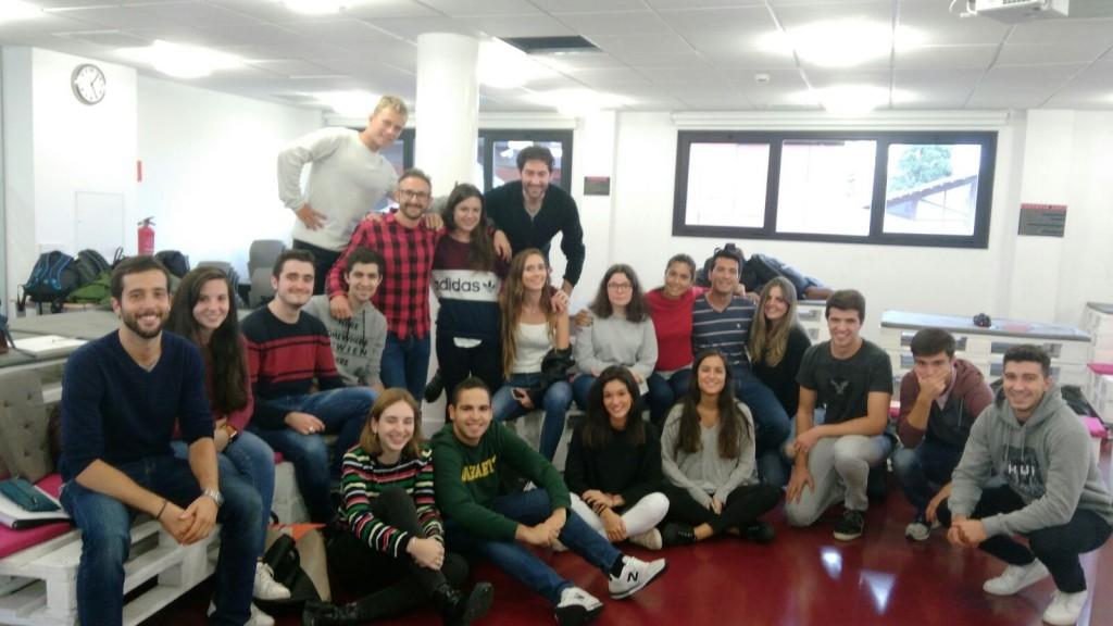 Fomento San Sebastián visita a los 13G