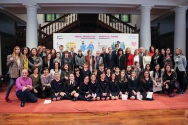 Instituciones y organizaciones se suman al Manifiesto INSPIRA de la Universidad de Deusto para reivindicar la apertura de espacios a niñas y mujeres en ciencia y tecnología