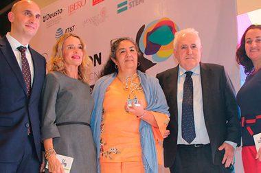 María Alicia Guzmán, galardonada con el Premio Ada Byron en su edición mexicana
