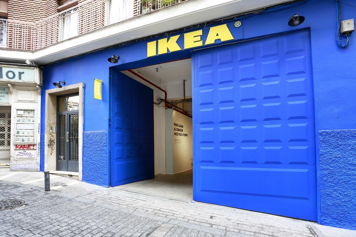 Tiendita IKEA en El Rastro (Madrid)