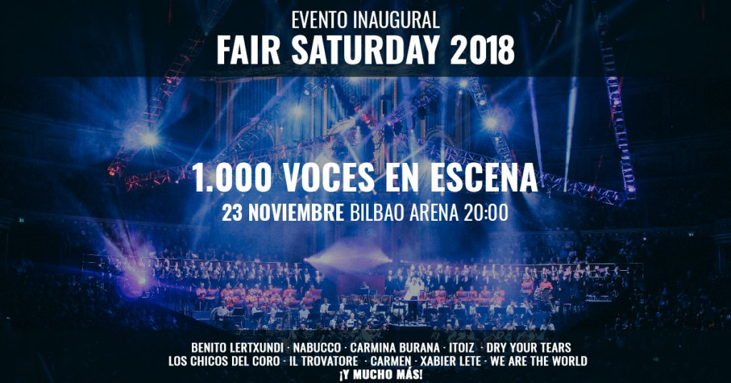 fair saturday 2018 evento inagural
